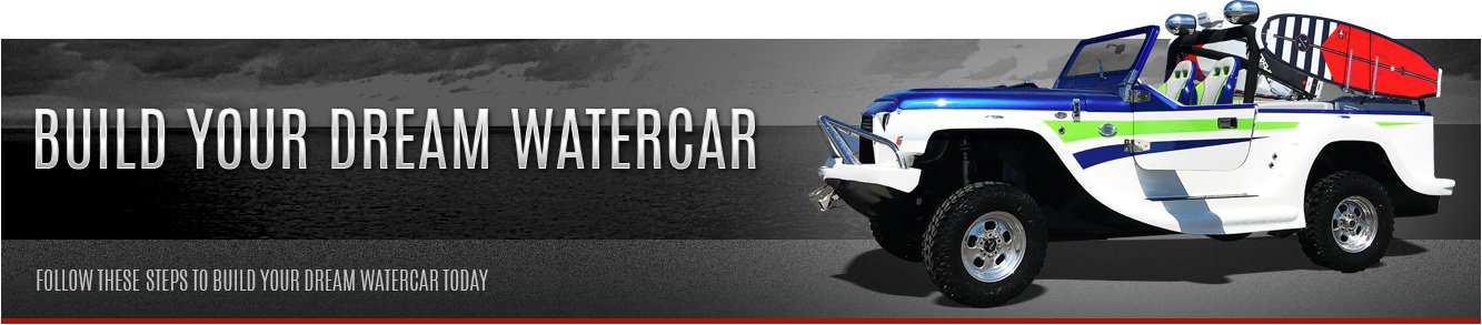 Build your dream watercar