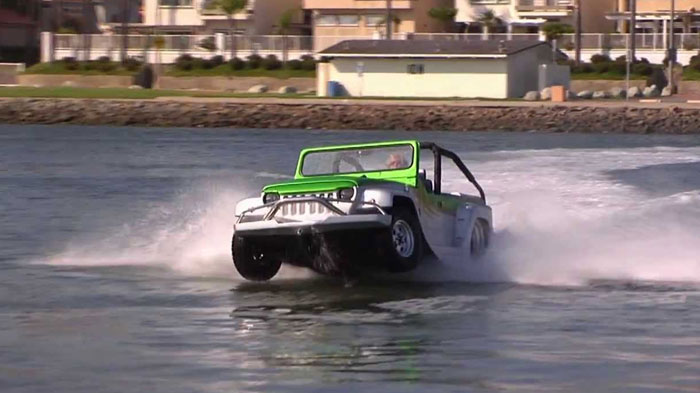 WaterCar Panther - The Most Fun Vehicle on the Planet!